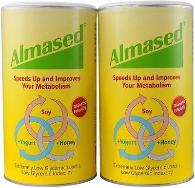2x Almased Multi Protein Synergy Diet Powder 17.6 oz 500 g Weight Loss NEW!