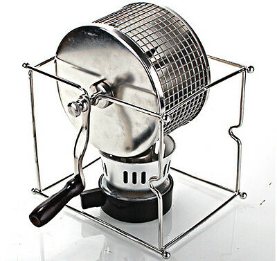 Manual Kitchen Coffee Roaster Machine Roller baking ...