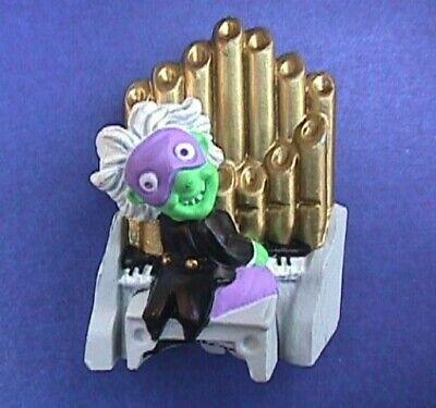 Hallmark PIN Halloween Vintage PHANTOM PIPE ORGAN Player Man Green Brooch - Halloween Organ Player