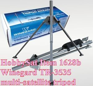 TR3535 Winegard mult-satellite mount for dishes,portable,cameras