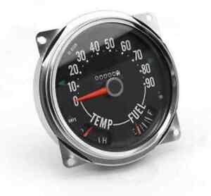 Omix-ADA 17206.04 0-90 MPH Speedometer Gauge for Jeep CJ5/CJ6/CJ7/CJ3