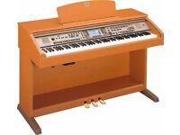 YAMAHA CLAVINOVA DIGITAL PIANO CVP 301 - CHERRY WOOD WITH STOOL