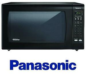 NEW* PANASONIC COUNTERTOP MICROWAVE - 109870630 - 1250W 2.2 CU. FT. COUNTERTOP MICROWAVE OVEN WITH INVERTER TECHNOLOGY