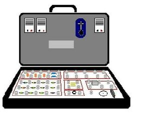 Attache (Briefcase / Spycase) 200-in-1 Electronics Kit