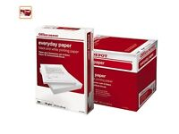 Office Depot A4 Everyday Paper 80gsm (Box of 10 REAMS = 5000 Sheets)