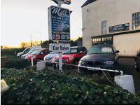 Car sales forcourt & secure compound