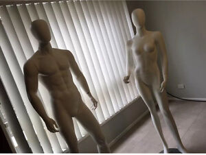 Male and female mannequins for sale Dee Why Manly Area Preview