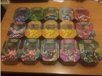 SPECIAL OFFER! Pokemon Storage Tins! (Unused)