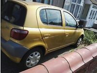 TOYOTA YARIS 1.0 GS 5 DOOR 1 LADY OWNER HPI CLEAR