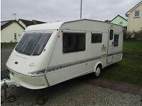 Eldis Cyclone Vogue 1998 5 Berth Touring Caravan