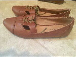 Call it Spring brown flat shoes