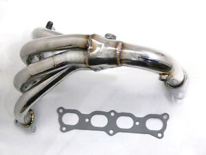 HEADERS EXHAUST MANIFOLD STAINLESS MAZDA PROTEGE 1.8L 2.0L NEW