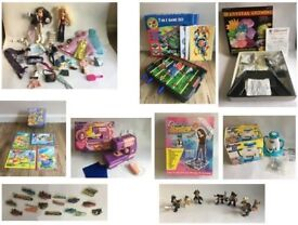 CAR BOOT JOB LOT - books, cloths, electrcials, household, toys & games