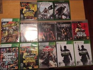 XBOX ONE, XBOX 360, AND PS3 GAMES. MUST GO ASAP!!!