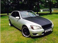 Lexus IS200 2001 MODIFIED 6Months MOT