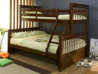NEW SOLID WOOD/METAL BUNKBEDS!!!