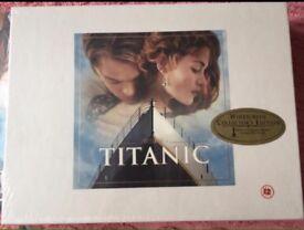 Titanic VHS Box set New