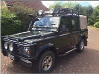 Wanted land rover defender county top cash prices any year or condition