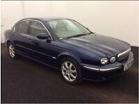 2003 (53) JAGUAR X-TYPE 2.1 V6 SE AUTOMATIC SALOON,1 OWNER,LEATHER,MOT,SATNAV,BARGAIN(bmw,ford,audi