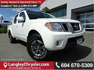 2017 Nissan Frontier PRO-4X ACCIDENT FREE w/ 4X4, NAVIGATION...