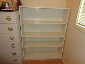White painted Bookcase Picton Wollondilly Area Preview