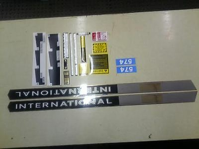 International 574 Decals