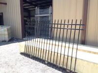 Iron fence for sale with installation