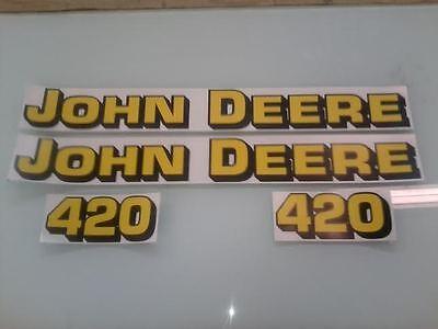 John Deere 420 Loader Decals