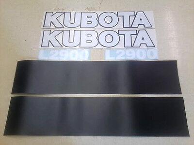 Kubota L2900 Hood Decals
