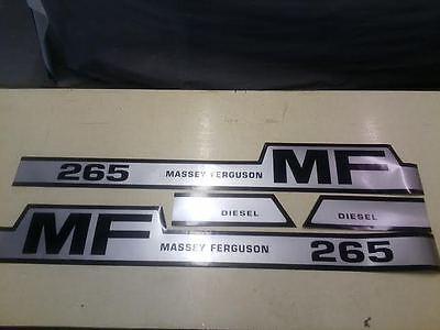 Massey Ferguson 265 Hood Decals