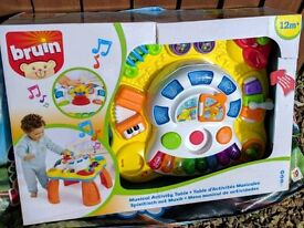 Childrens musical activity table