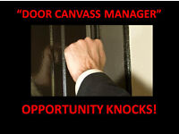 Experienced Door Canvass Manager - Immediate Start With Weekly Pay!