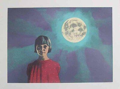 Vincent - Moon spell - Farblithographie - handsigniert und nummeriert