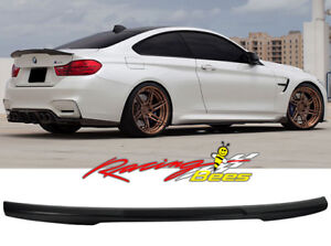 2014-2018 BMW F32 4 Series M4 Style Trunk Spoiler Carbon