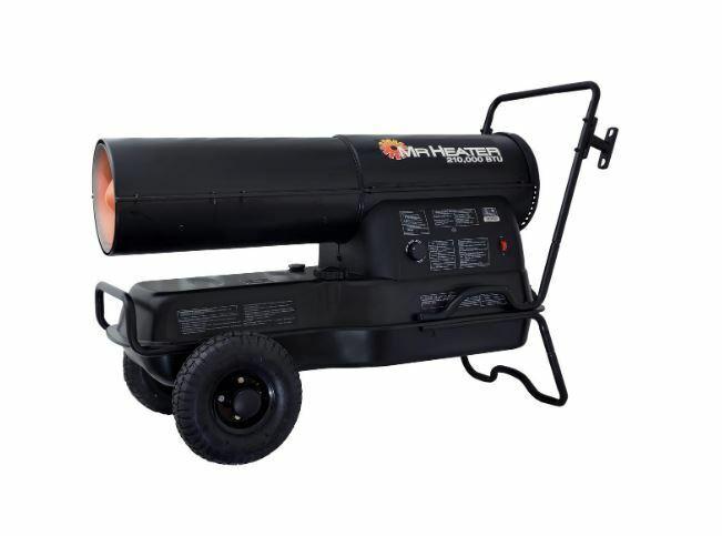 Mr. Heater Portable Kerosene Heater - 210,000 BTU, 6000 Sq.
