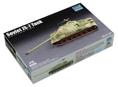 Trumpeter 9367136 Sowjetischer Schwerer Panzer IS-7 1:72 Modellbausatz