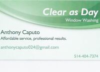 Professional, courteous, inexpensive, home window washing!
