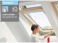 orginnal velux, other window models and sizes available
