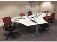 White Techo Desk