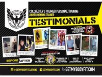 Personal training Colchester