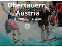 The Ski Week event whole Apt for up to 3 Available! March 10-17 Accom+Events+Pass Obertauern