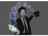 MAGICIAN & ENTERTAINER - CLOSE-UP MAGIC - BOOK NOW FOR PARTIES, WEDDINGS & EVENTS - LONDON/SURREY