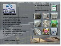 Bulk bags/ Aggregrates /Garden stone / Paving Slabs/ Compost/Coal/blocks /Posts