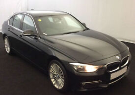 Black BMW 320d se lux 2013 FROM £51 PER WEEK!