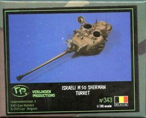 Verlinden Productions 1:35 Israeli M50 Sherman Turret Resin #343