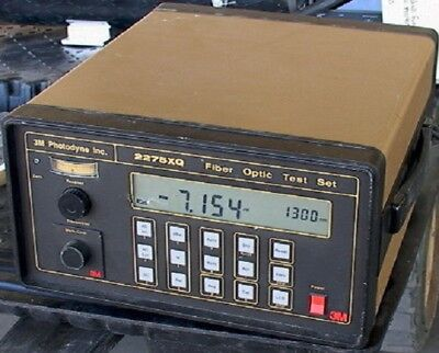 3-m Photodyne Inc 2275xq Fiber Optic Test Set Gpib Inte