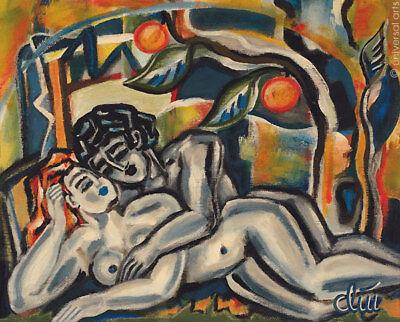 JACQUELINE DITT - Spirit of Eden A4 DRUCK n.Gemälde Bild Akt Bilder