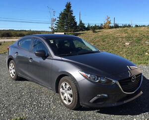 2013 Mazda 3  Lease takeover $122.00 bi weekly