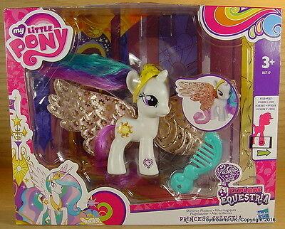 My Little Pony G4 Shimmer Winged PRINCESS CELESTIA Flutter New