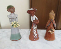Collection of Pottery Figurines - Girls with Artificial Flowers City of Montréal Greater Montréal Preview